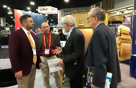 Talking to venders3 IPPE 2018